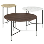 B&T design / Modest Round Coffee tables