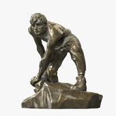 """Скульптура """"Булыжник — оружие пролетариата"""""""