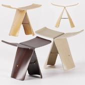 Vitra Butterfly stool.