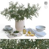 ZARA Home декоративный набор керамической посуды