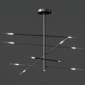 Suspension lamp Bonaldo Crossroad