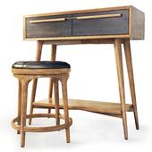 Туалетный столик / консоль Bruni. Dressing table / console by Etg-Home