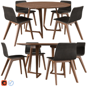 Morph Chair & Twist Table By Zeitraum