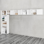 IKEA   OPHUS Wardrobe with 10 doors