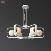 Maytoni Chandelier Suspension Light Avola Gold Modern