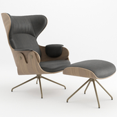 LOUNGER armchair by BD Barcelona