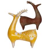 pottery deer 2
