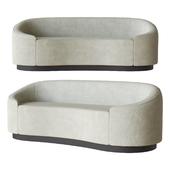 Petite Curved Sofa Global Home