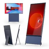 "Поворотный телевизор Samsung 43"" QLED The Sero 2020"