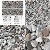 Stone splinter kit n3 / Камень осколочный
