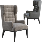 Armchair Arteriors Home Idol Wing