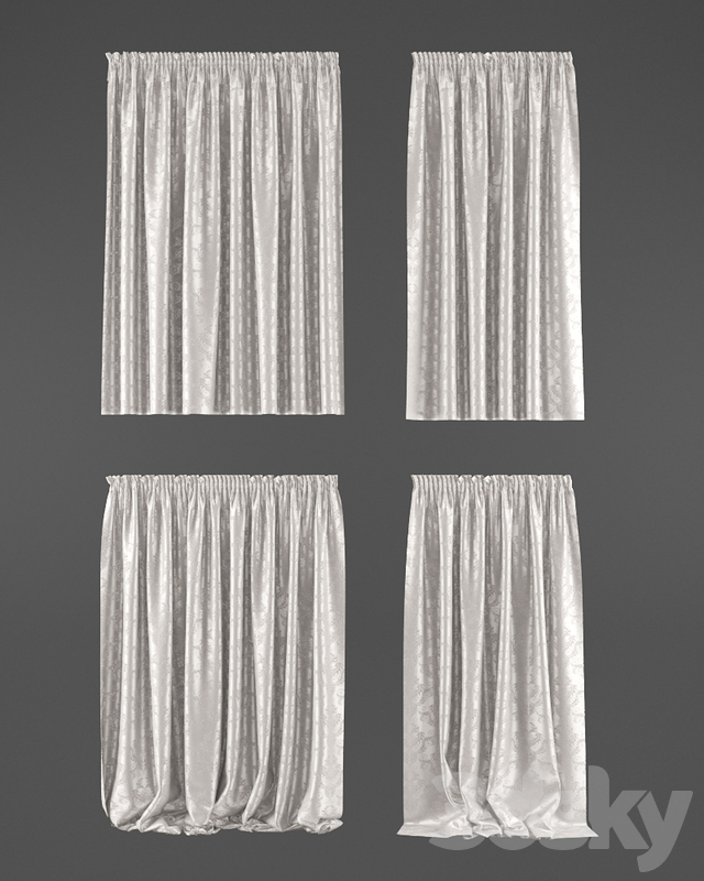 Direct printed curtains