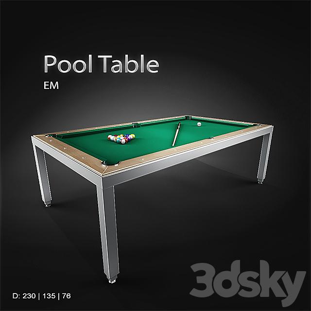 EM / Pool Table