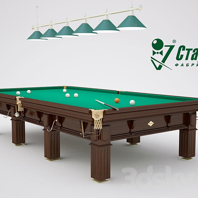 Billiard table III President