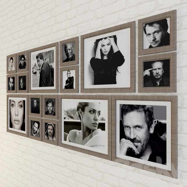 frame with photo