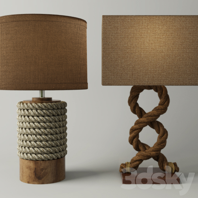 Rope Table Lamps