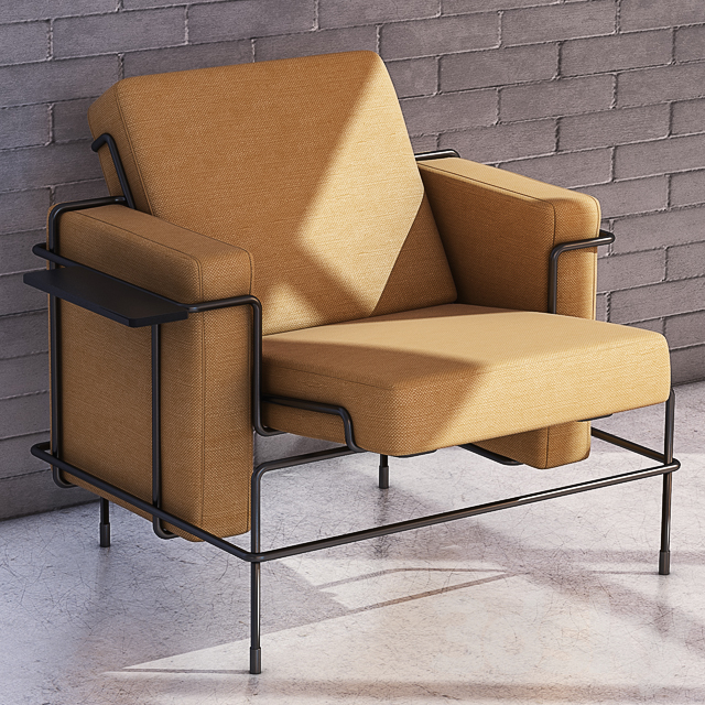 3d models: Arm chair Magis Traffic Armchair