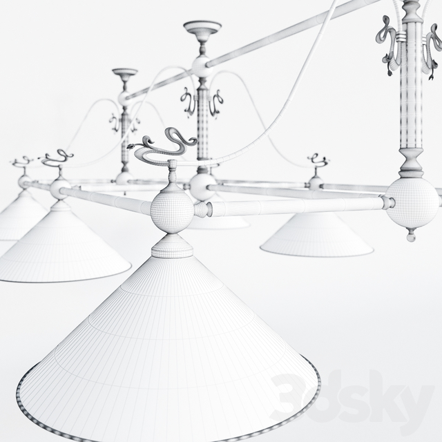 Billiard lamp - Shelsom BI / 4016/6