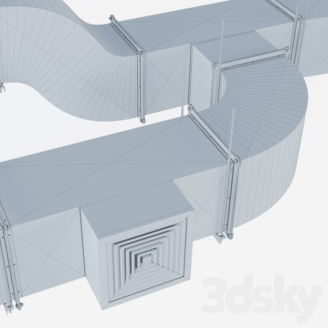 Rectangular ventilation