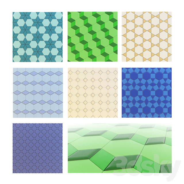 Leather tiles vol.3