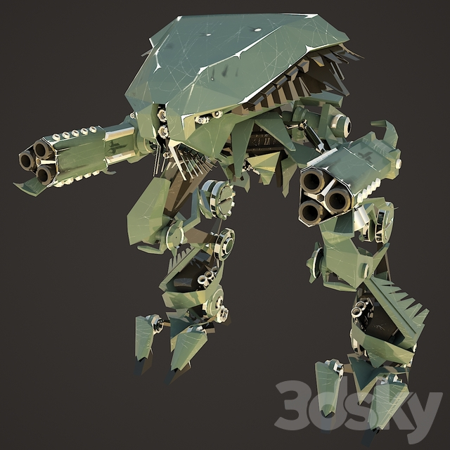 Assault Robot