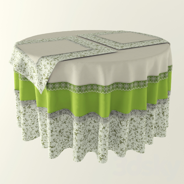 Tablecloth Provence style