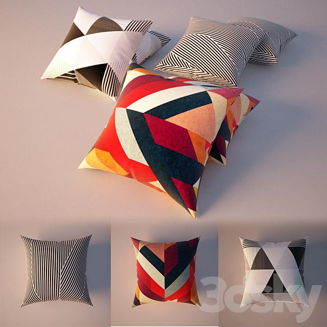 Pattern Pillows, Patterned Pillows