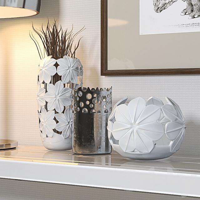 Decorative set with Portofino console