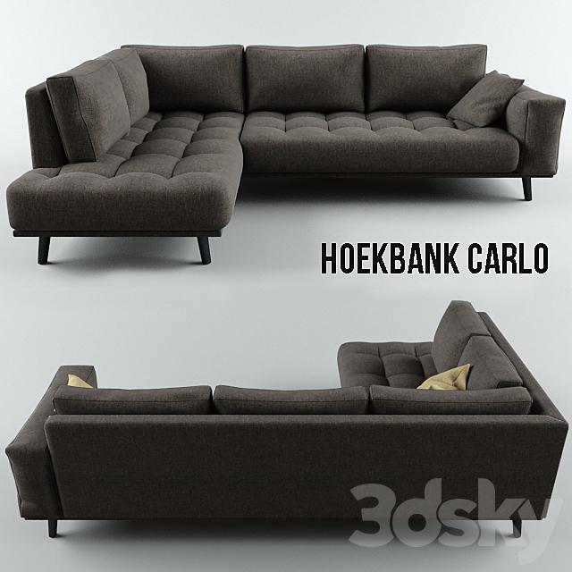 Sofa Hoekbank Carlo