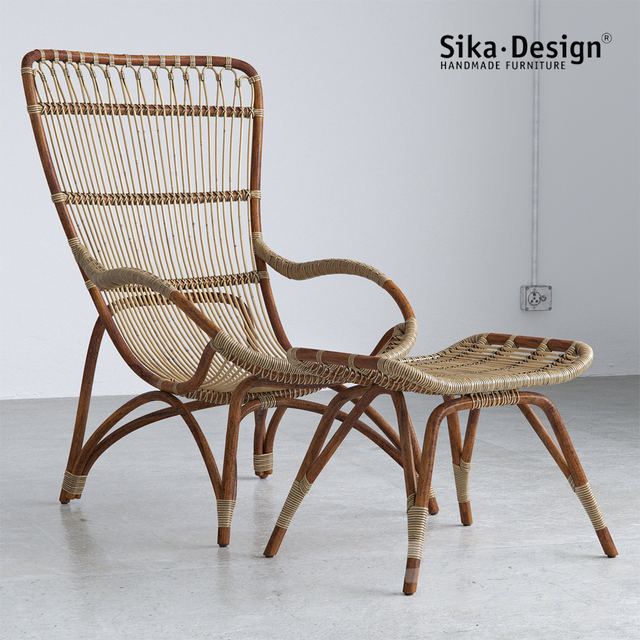 Sika Design Monet Chair and Footstool