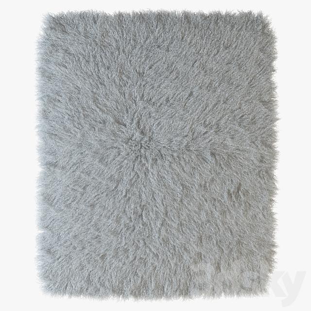 Tibetan sheepskin snow-white