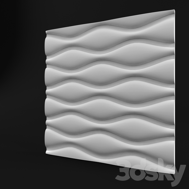 Gypsum board 3d