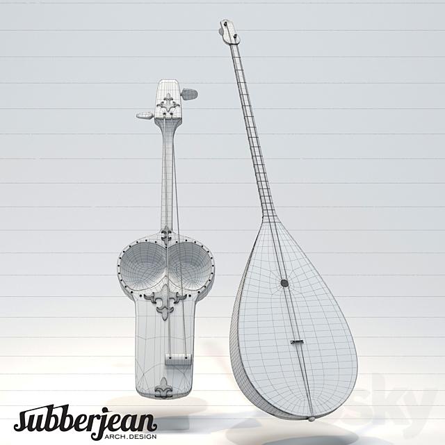 Kazakh National Musical Instruments