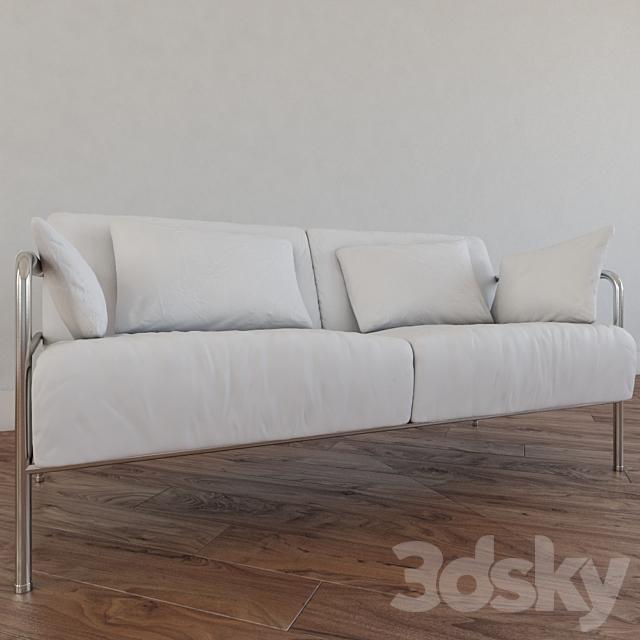 simple modern wihte sofa