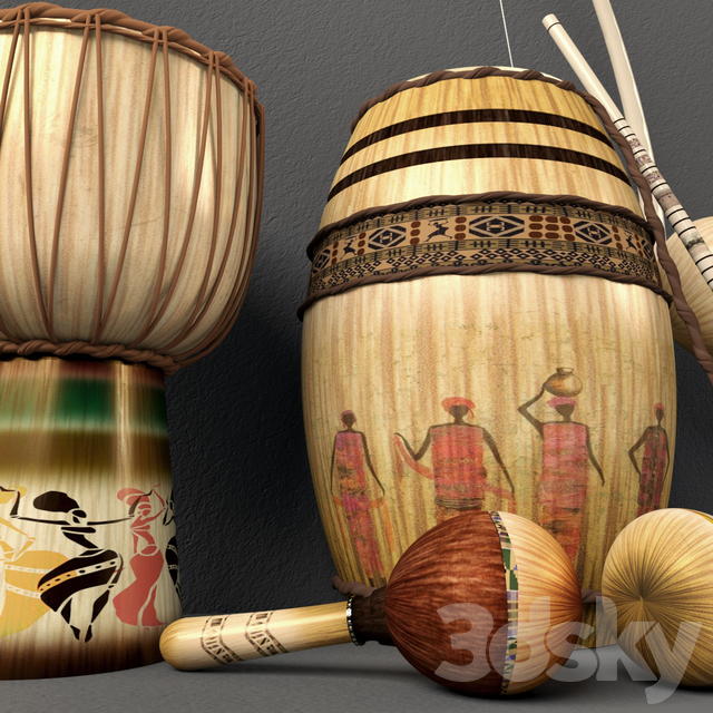 africa musical instruments