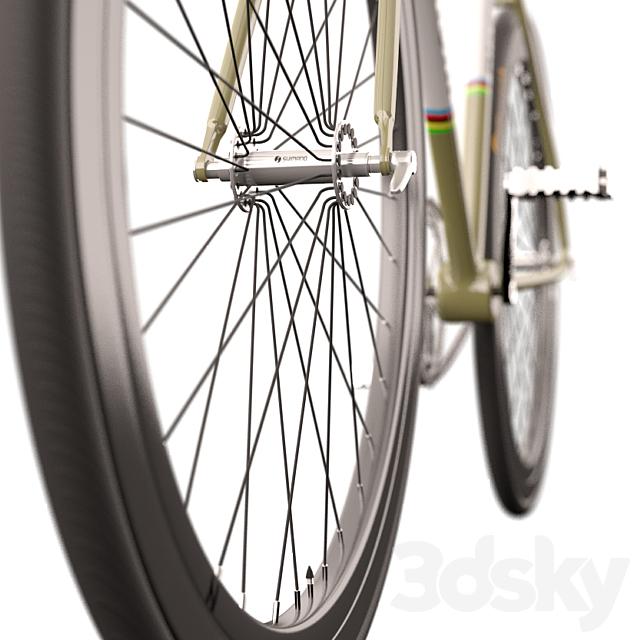 Fixed Gear Bianchi Bicycle