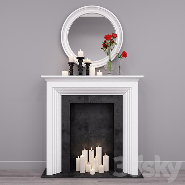Decorative fireplace 3