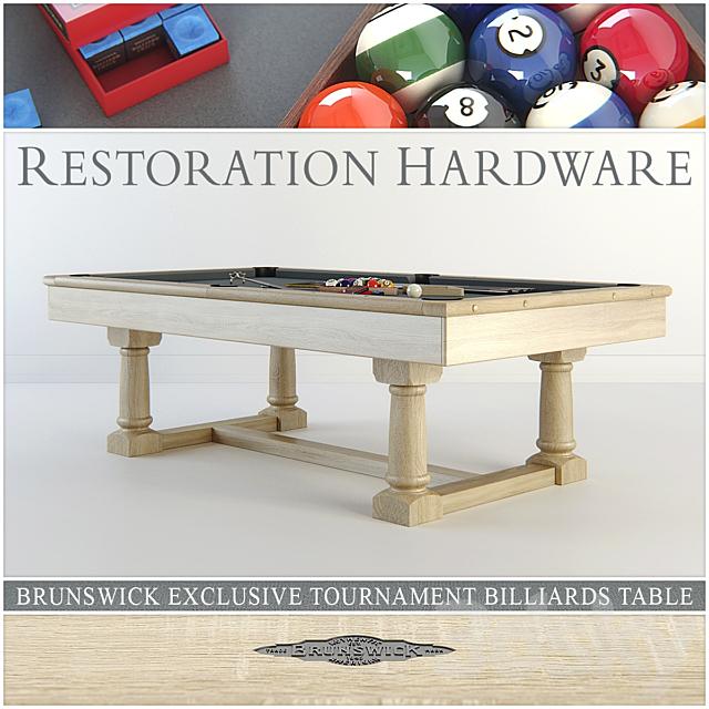 RH Brunswick exclusive tournament billiards table