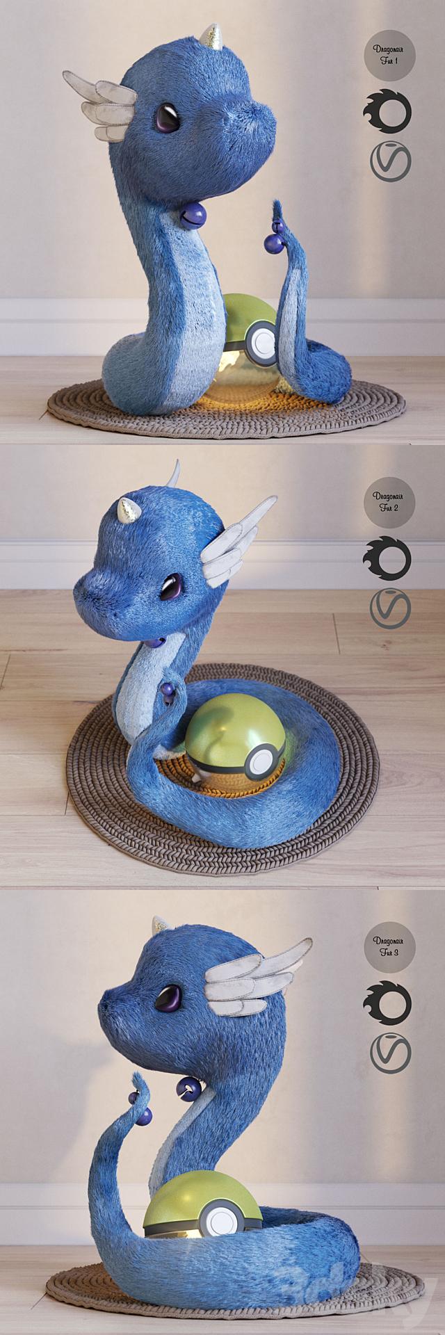 Pokemon Dragonair.