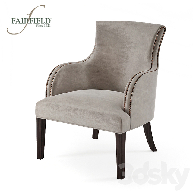 12d models: Arm chair - Fairfield Chair Company 12-12