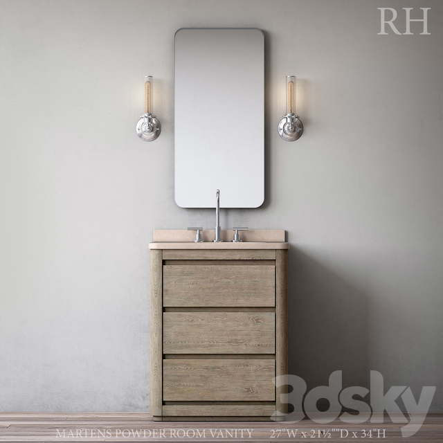 Martens Powder Room Vanity