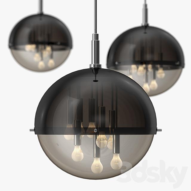 Gianelly - Globe ceiling light 1970s