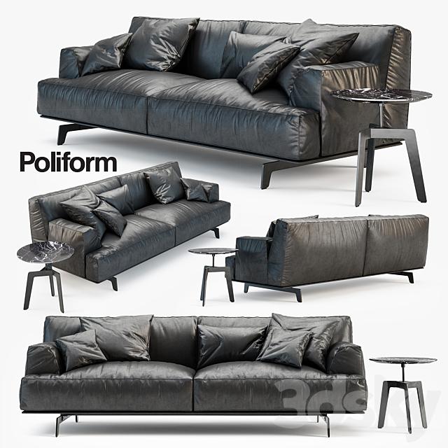 Models Sofa Poliform Tribeca