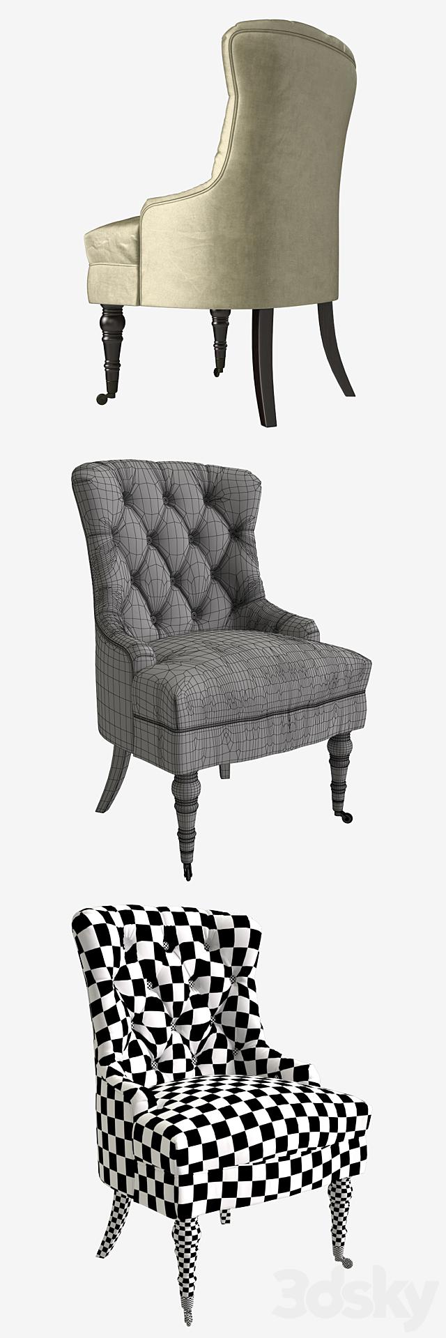 Armchair Garda Decor armchair_h98xw63xl60_art PJC098-PJ842
