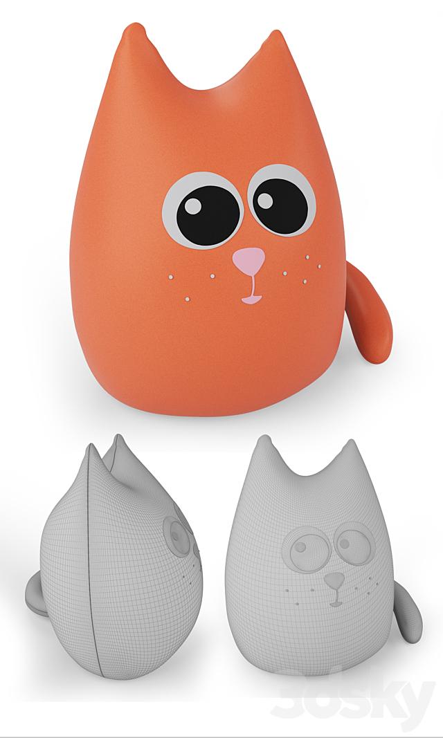 Soft anti-stress toys Sooty, Smokey and Spark