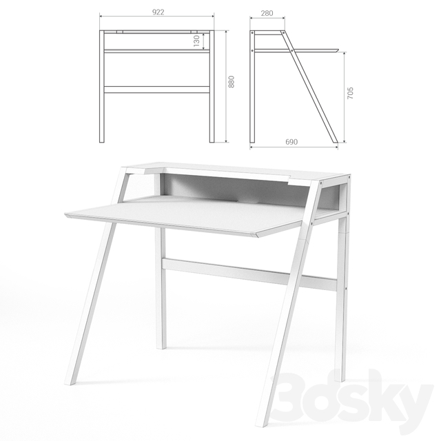 Computer desk YOUK from THE IDEA