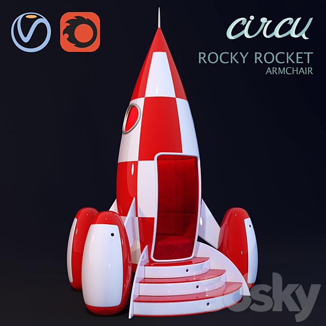 ROCKY ROCKET chair of Circu Magical Furniture