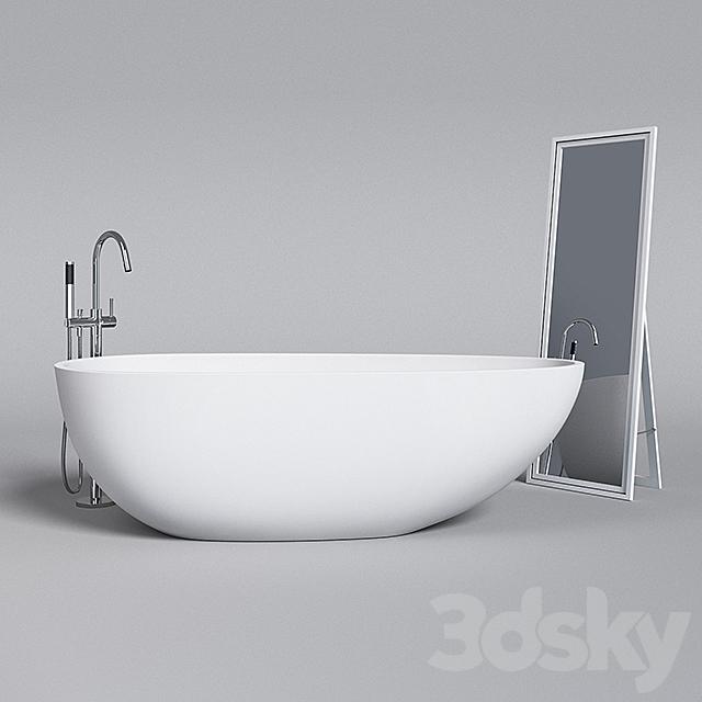 3d Models Bathtub Badeloft, Ikea Faucets Bathroom
