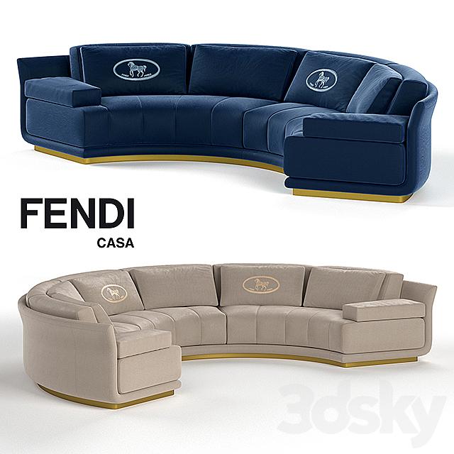 Models Sofa Artu Round Sectional