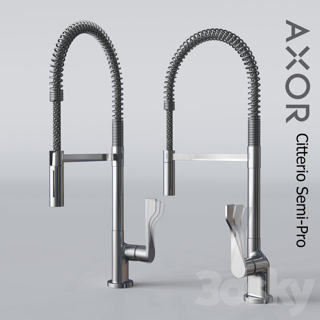 Axor Citterio Single Lever Kitchen Semi-Pro